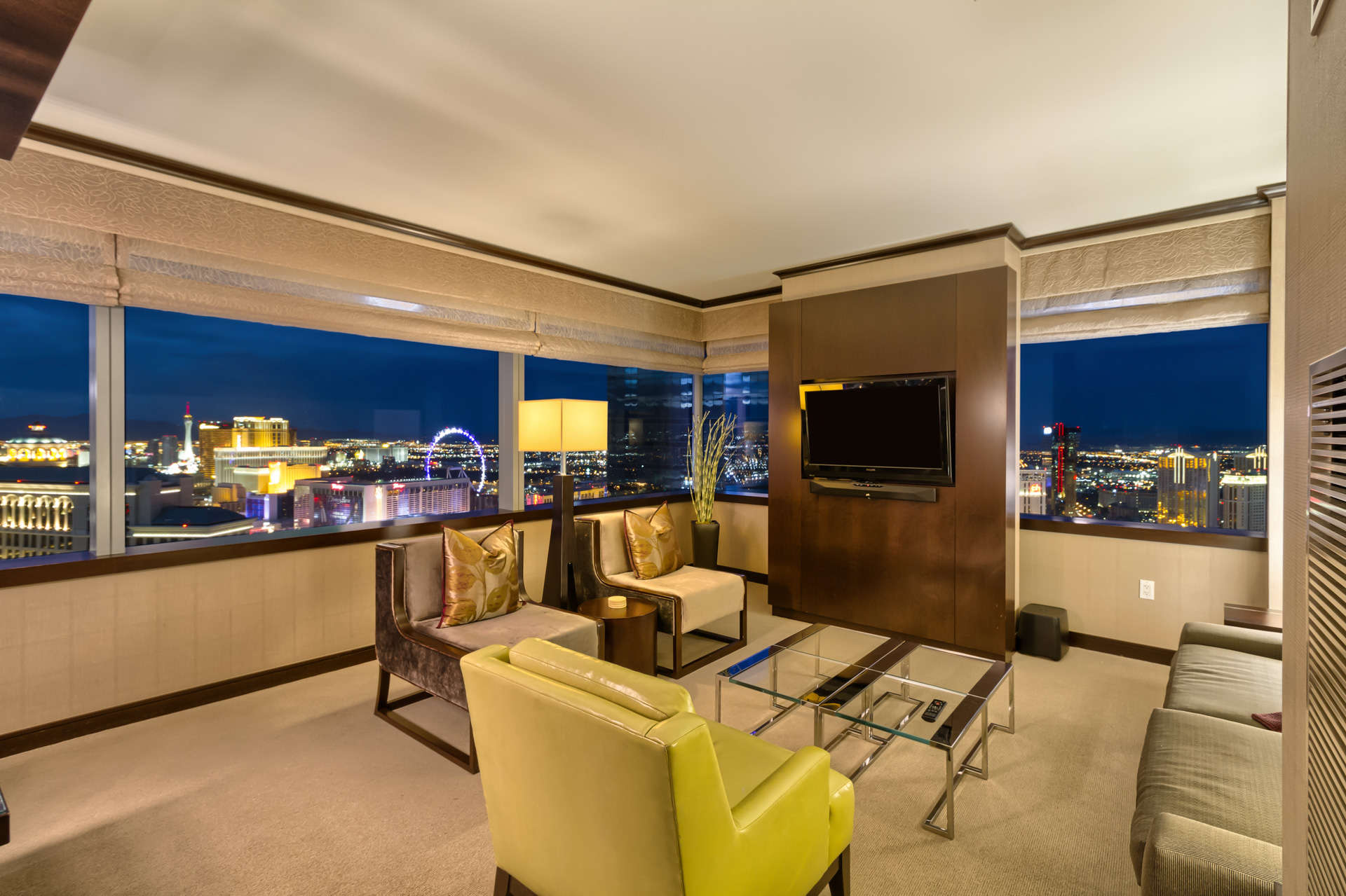 Bellagio Fountain View Suite, 2 bedrooms suites in Las Vegas, Secret Suites at Vdara