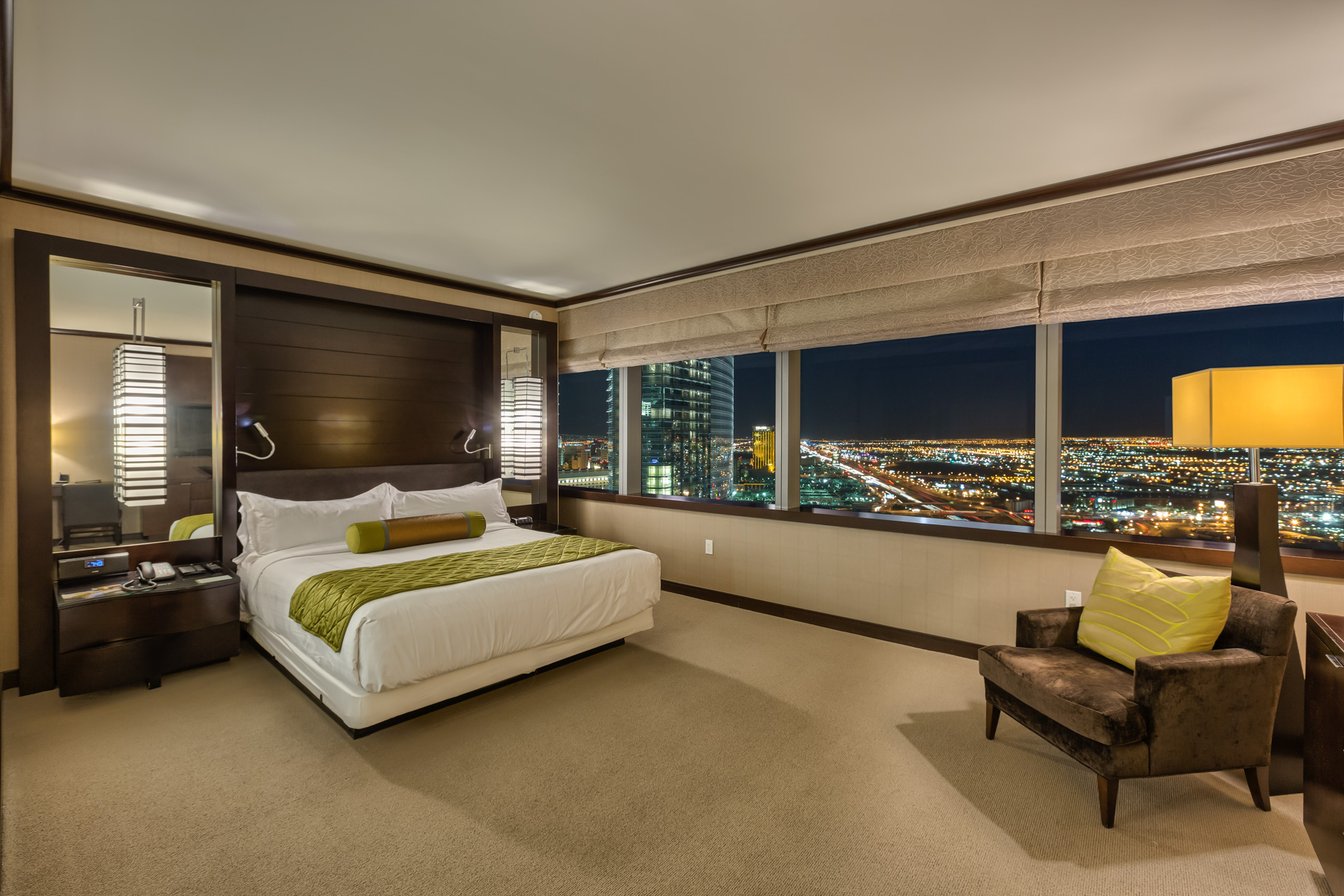Panorama Strip View Suite, 2 bedrooms suites in Las Vegas, Secret Suites at Vdara