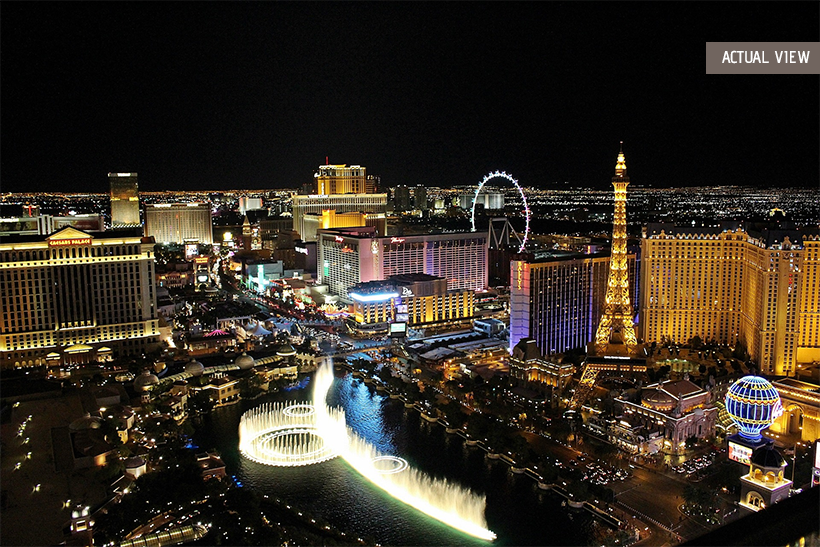 Location, Las Vegas Strip